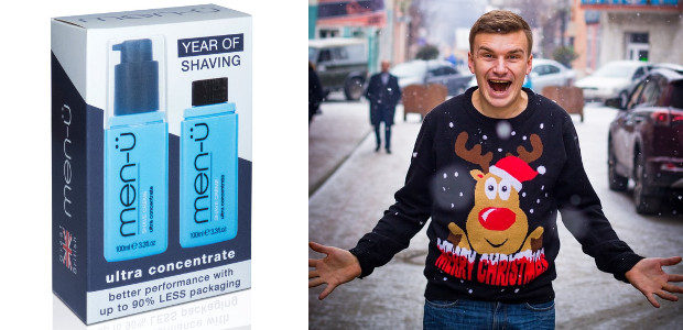 TREAT THE MAN IN YOUR LIFE TO THE ULTIMATE GROOMING PRODUCTS THIS CHRISTMAS – HE'LL SHAVE HIMSELF A FORTUNE! www.men-u.co.uk TWITTER | FACEBOOK | INSTAGRAM It's the thought that counts […]