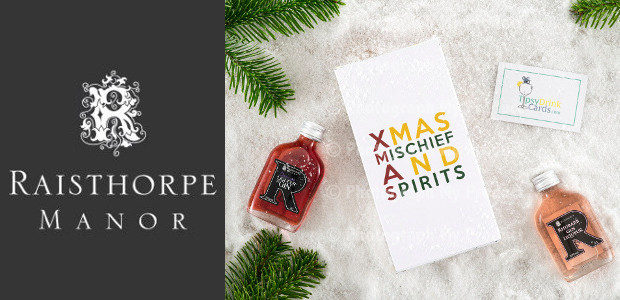 GINSPIRATION FOR SOME SEASONAL SPIRIT www.raisthorpemanor.com FACEBOOK | INSTAGRAM | TWITTER Artisan family drinks producer Raisthorpe Manor's award-winning gins, liqueurs and ports make the perfect seasonal tipple to complement celebrations […]