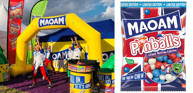 RED, WHITE & CHEW WITH NEW MAOAM GREAT BRITISH EDITION PINBALLS! www.maoam.com FACEBOOK   TWITTER MAOAM is celebrating Britain's love of sweet treats and delicious great British flavours with its […]