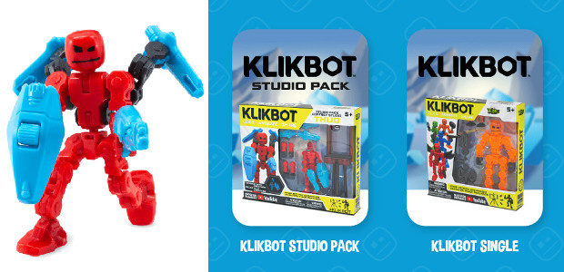 stikbot.toys/where-to-buy-klikbot/ YOUTUBE | INSTAGRAM | TWITTER | FACEBOOK | SNAPCHAT   KlikBots are an imaginative extension of popular Stikbot brand of figures that integrates stop-motion animation into the play, thanks […]