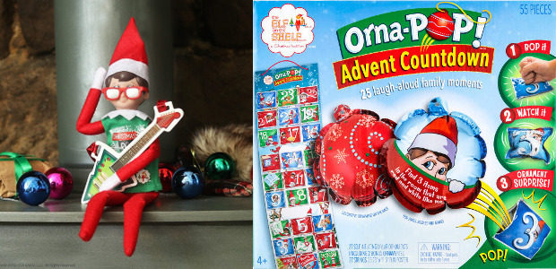 FUN, FAMILY COUNTDOWN TO CHRISTMAS! THE ELF ON THE SHELF® ANNOUNCE NEW ORNA-POP!™ ADVENT CALENDAR! www.elfontheshelf.co.uk FACEBOOK | TWITTER Bop It! Watch It! Surprise! From the creators of The Elf […]