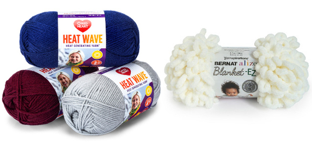 Last Minute Back To Campus Essentials For Pupils as we enter the colder Winter Months >>> RED HEART HEAT WAVE HEAT GENERATING YARN & BERNAT ALIZE EZ WOOL! Now they […]