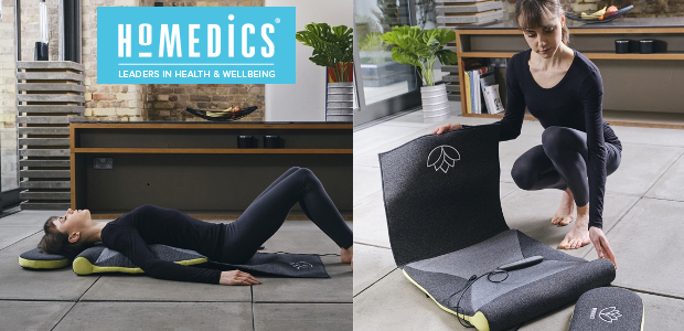 Ho Medics, where wellbeing and technology come together. Let's make your house a home: www.homedics.co.uk FACEBOOK | TWITTER | INSTAGRAM | YOUTUBE STRETCH XS – Back Stretching Mat STRETCH XS […]