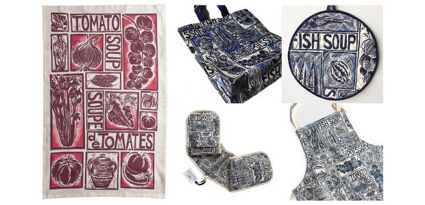 Simple Soups & Regional Recipes… Illustrated Homewares by Kate Guy www.kateguy.co.uk Stuck for some recipe inspiration? Check out the tea towel! Artist and designer Kate Guy has combined her love […]