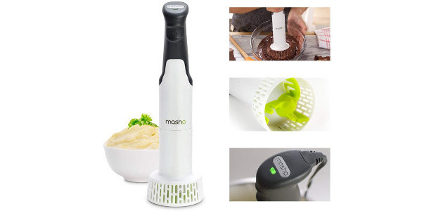 Masha from MPL HomeIt's a fantastically versatile and affordable electric hand-held gadget that can revolutionise your cooking. mymasha.co.uk   The Masha's distinctive extrusion technique and patented rotor-cone technology produces restaurant-quality […]