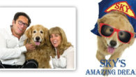 """""""Sky's Amazing Dream,"""" a picture book by bestselling author Mark Stevens about his Golden Retriever Sky: a furry superhero who does good deeds. www.skysamazingdream.com Also available in kindle format and […]"""