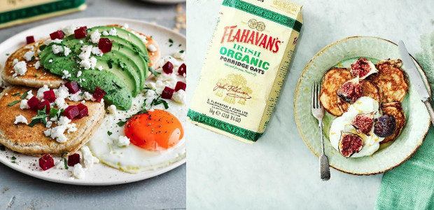 Savoury Oat Pancakes Stack with Avo, Beets & Feta Makes: 6 pancakes Prep time: 20 mins Cook time: 10 mins Difficulty Level: Easy-Medium Ingredients: 100g Flahavan's Organic Porridge Oats 1/2 […]