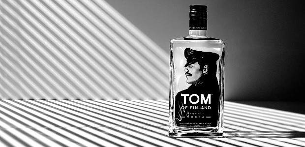 """Tom of Finland Organic Vodka: """"Make a statement without saying a word."""" www.tomoffinlandvodka.com INSTAGRAM 