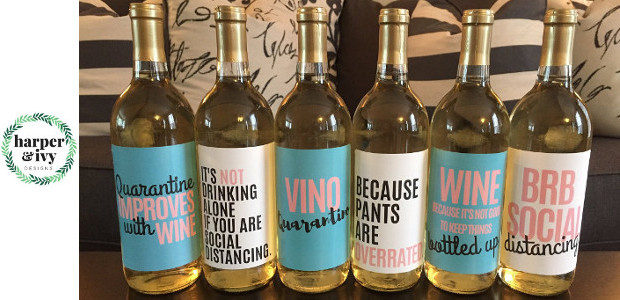 Harper & Ivy Designs Ideal Gifts to Send for Those Staying At home! www.harperandivydesigns.com A perfect gift for those staying at home! They are called quarantine wine bottle labels! www.harperandivydesigns.com/quarantinewinelabels […]