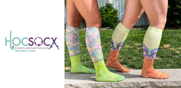 Hocsocx Whimsical Performance Socks and Liners www.hocsocx.com Hocsocx is a popular collection of thin breathable liner socks worn under shin guards and pads, specifically designed to protect against shin guard […]