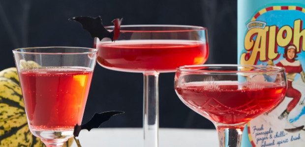 Recipe! Aloha Vampire Cocktail ! Happy Haloween !!!!! www.aloha65.com About Aloha 65 A surprisingly complex yet beautifully balanced liqueur. The liquid is somewhat pineapple-ly, but with herbaceous tones and a […]
