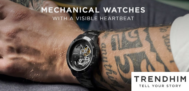 Trendhim . Dante Watches . Mechanical watches that move when you do… www.trendhim.com Powered by the reliable Seagull automatic mechanical movement, the Dante watches are a sight to behold. See […]