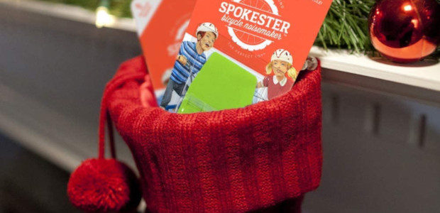 Spokester make bike accessories to make your bike sound like a motorcycle, which are great stocking stuffers for kids. www.spokester.com They easily attach to the frame of the bike and […]