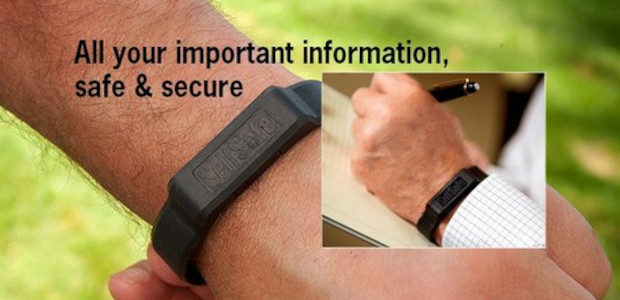 SelfSafe is stylish, sporty USB emergency identification bracelet that holds all your important documents/images/information: medical, financial, insurance, travel documents, personal identifications and more. www.selfsafe.net Simple drag-and-drop features make adding and […]