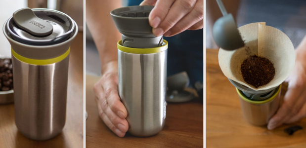 Does She Adore Coffee… we are delighted to introduce Cuppamoka, a compact and lightweight travel pour-over coffee maker system! www.wacaco.com We are excited to introduce you to the brand new […]