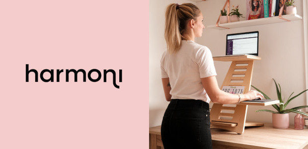 Harmoni – The Standing Revolution. harmonidesk.com What? Harmoni Standing Desk Why? Harmoni offers a bold new way to work and minimizes the assembly struggle. Four pieces of wood form an […]