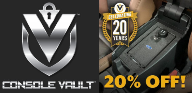 Console Vault 20th Anniversary Sept 10th – Sept 20th 20% off all In-Vehicle Safes Discount code is RUGBY 20% Off applies site-wide with promo code RUGBY & Instagram Contest see […]